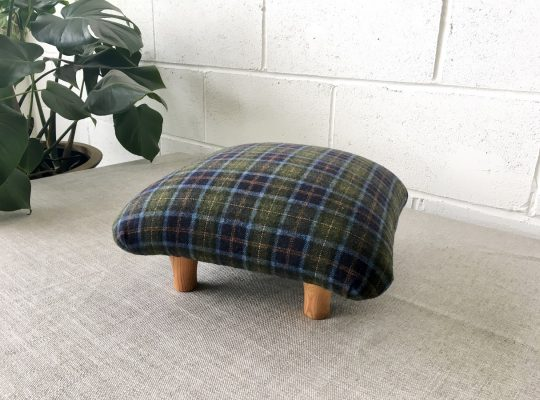 Aggie the recycled footstool