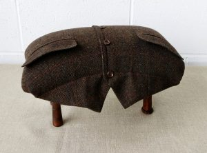 Harry the recycled footstool